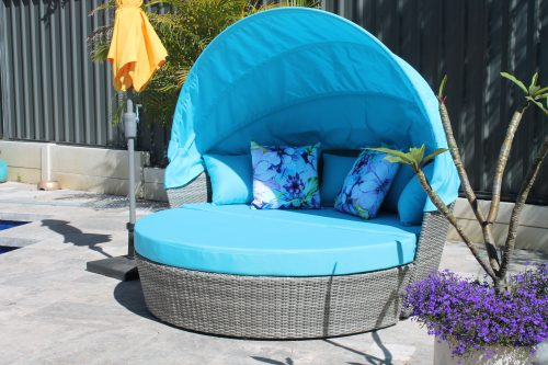 Beautiful Outdoor Wicker Day Bed that Doubles as a Lounge in Perth
