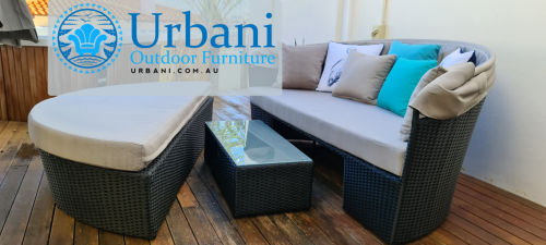 Caspian Day Bed for outdoors from Urbani Furniture in Perth