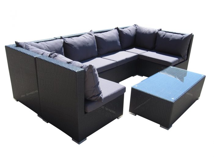Comfortable lounge setting for the garden in Perth