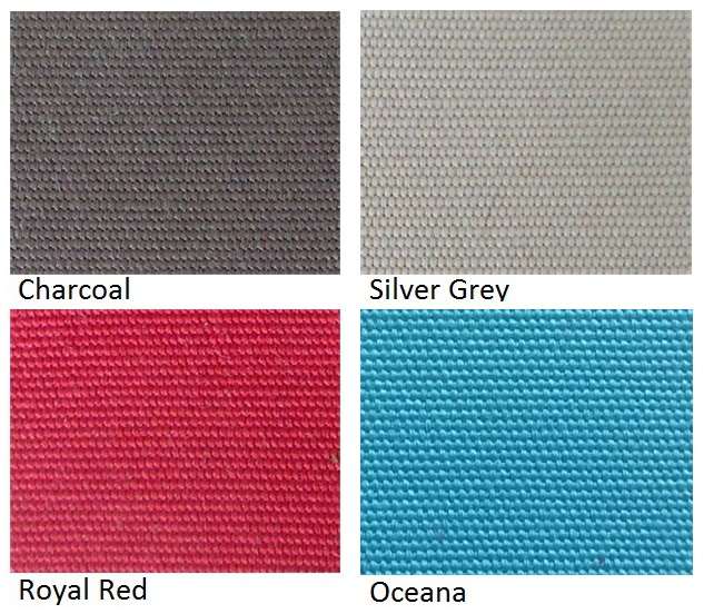 Grey, Red, and blue cushion colours at Urbani Furniture
