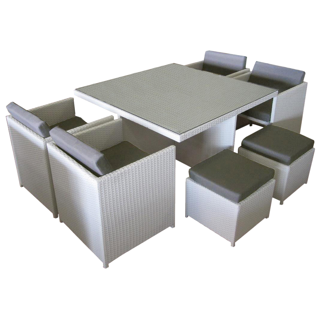 Brazilia 8 Seat Dining Set