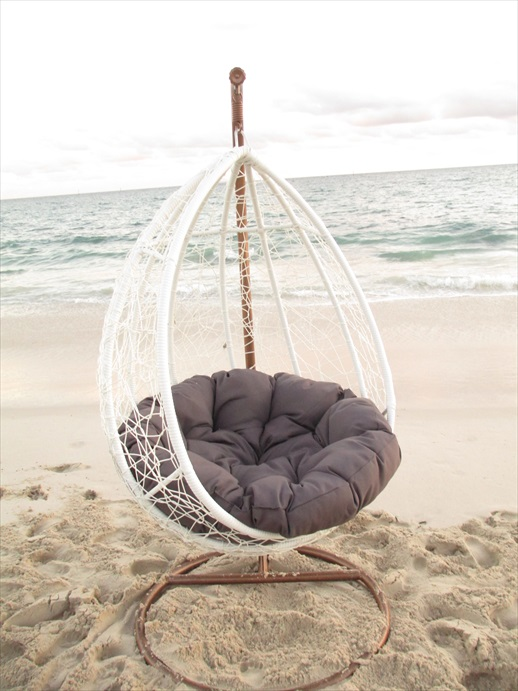 Beautiful chair for outdoor lounging